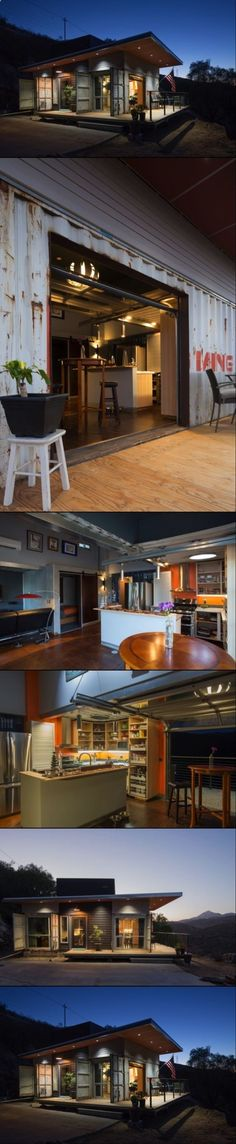 Container House - Rustic Shipping Container Homes Built in a Budget Southern California - Who Else Wants Simple Step-By-Step Plans To Design And Build A Container Home From Scratch?
