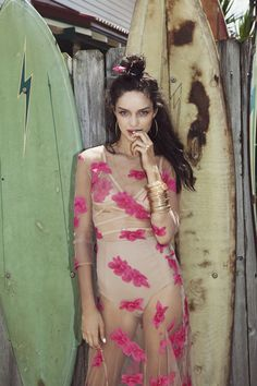 Our Orchid Maxi Dress in Paradise Pink Fashion Brand, Boho Fashion, Fashion Models, Fashion Beauty, Womens Fashion, For Love And Lemons, Long Scarf, Photoshoot Inspiration, Spring 2015