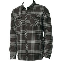 82c683bde23 Oneill Mens Flannel Redstone Black Swag Style