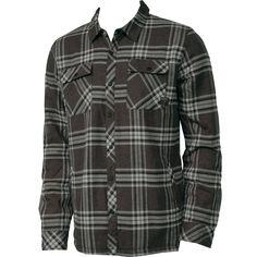 Oneill Mens Flannel Redstone Black