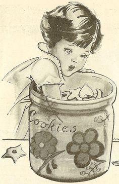 Illustration from Vintage Magazine