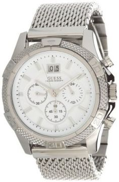 55d5f05fca8 Relógio GUESS Men s Boldly Detailed Sport Chronograph Watch  Relogio  GUESS