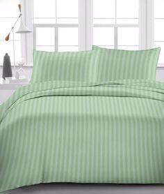 Luxurious 6 Pcs Sheet Set Egyptian Cotton 1000Tc Drop 15 Inch Moss Stripe