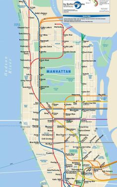 Extremely Useful! Maps Show Best Coffee Shops By Subway Stops | Co.Design | business + design