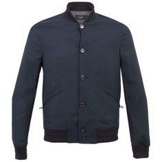 Paul Smith Jeans Navy Bomber Jacket