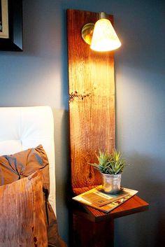 DIY decoration table de chevet