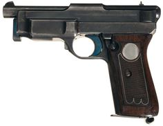 Exceptionally Rare Early Mauser 1912/14 Prototype Serial Number 162 Semi-Automatic Pistol in 9 mm Luger
