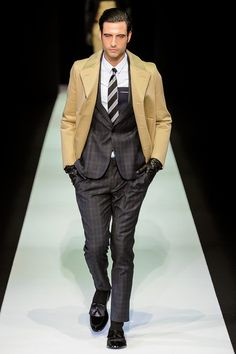 Emporio Armani | Fall 2013 Menswear Collection | Style.com