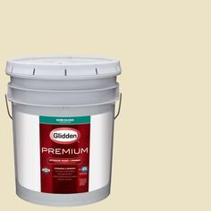 Glidden Premium 5 gal. #HDGY61 Spring Wisp Semi-Gloss Interior Paint with Primer