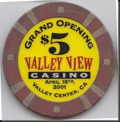 valley view casino bingo