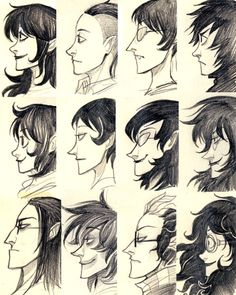 All trolls have universally messy hair :3 except Equius, you go Equius!