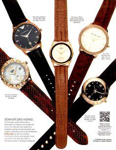 Relógios com pulseira de couro e ar masculino são clássicos #FicaDica - Estilo de Vida