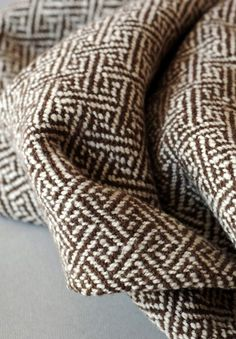 lovely woven wool blanket.