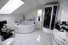 Resultado de imagen para bathroom with shower cabin