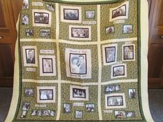 Photo Memory Quilt Designs | ... memory/photo quilt I made for my parents' ... | Quilting Patterns