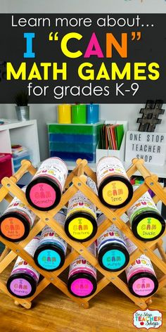 Discover why I CAN Math Games are the perfect teaching resource for ALL Math classrooms. Use them for Test Prep, Math Centers, Whole Group Math Review, Progress Monitoring, or Independent Practice. Rigorous, Effective, Efficient, and FUN! For Grade K-9