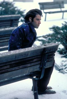 Never saw this movie, but what a pretty picture! John Travolta in 'Blow Out', 1981.°