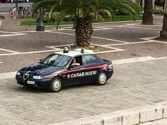 Alfa Romeo 156 carabinieri