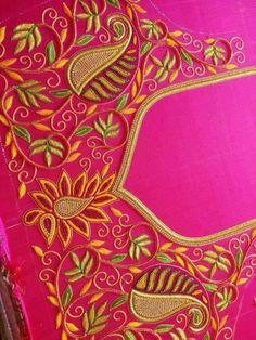 Peacock Blouse Designs, Cutwork Blouse Designs, Wedding Saree Blouse Designs, Pattu Saree Blouse Designs, Simple Blouse Designs, Hand Embroidery Designs, Mirror Work Blouse Design, Neckline Designs, Designer Blouse Patterns