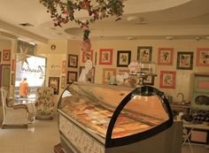 Gelataria Paradiso - Cartagena Colombia - such beautiful decor