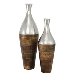 #ImportCollection, Item 15-300, Mammoth Vases S/2, http://www.ImportCollection.com