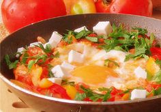 Shakshuka  A recipe for one of the most popular egg dishes in Israel