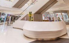 Concierge, Shopping Mall, Front Desk, Commercial, Reception Desks, Retail, Kiosk, Interior Design, Counter