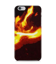 Blaze with Dark Brown Background 3D Iphone Case for Iphone 3G/4/4g/4s/5/5s/6/6s/6s Plus - ARTXTR0107 - FavCases