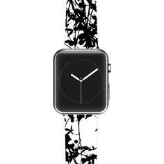 "Ingrid Beddoes ""Black on White"" Apple Watch Strap"