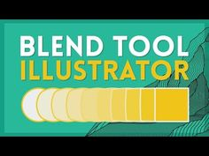 The Blend Tool | Illustrator Tutorial - YouTube Blend Tool, Adobe Illustrator Tutorials, Graphic Design Tutorials, Design Reference, Infographics, Brushes, Designers, Photoshop, Templates