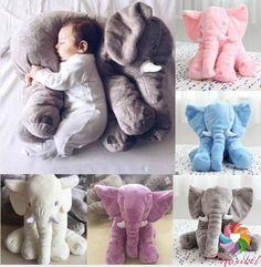 Almofada Elefante, para seu bebe dormir agarradinho! www.maribelimportados.com.br whats 51-985942537