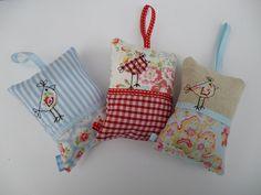 Supercute pincushions/scent bags