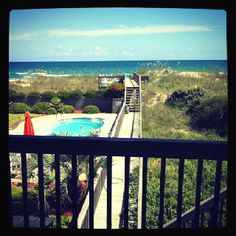 My view in Topsail NC