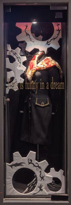 https://flic.kr/p/E5rBcE | Alice in Wonderland Themed Window Displays | Visual Merchandising Arts