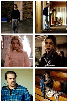 Eleven + wearing other people's clothes