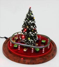 small train Illuminated LED light Christmas by Fineminiatures Z
