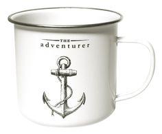 the Adventurer Dishwasher Safe Enamel Mug (ad)