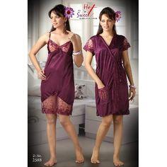 62e23aa07c Beautiful Satin 2 Piece Bedroom Wear  18.75
