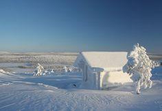 Lapland, Finland, winter wonderland