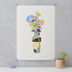 Vase study no2 Art Print