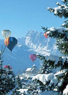 balloon festival in Gstaad, Switzerland…Found on alpenstrasse.tumblr.com