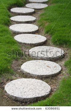 stepping stone walkways - Bing Images