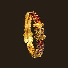 Gold Antique Lakshmi Bracelet (107A25468) | Vummidi Bangaru Jewellers