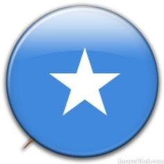 Somalia flag badge