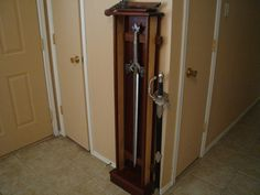 Glass Display Cases for Swords | Display sword case. Made from Ash, mohagany & coco bola.