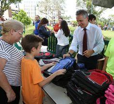How to lighten the load of heavy school backpacks (Miami Herald)