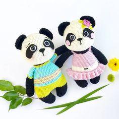 @art_irina_toys Thank you for this picture of Nele  Pattern/Anleitung in my etsy shop  #amaloudesigns #pattern #anleitung #pandagirlnele #panda #pandabear #amigurumi #amigurumidoll #doll #handmadetoy #crochetanimal #crochetart #kawaii #crochet #etsyshop #etsystore #etsyseller #craftastherapy