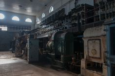 Abandoned Electrical Generating Station, Cockatoo Island, Australia