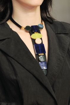 Marni necklace, Primary colors  SS 2014