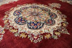In love with this persian rug... Check it out!